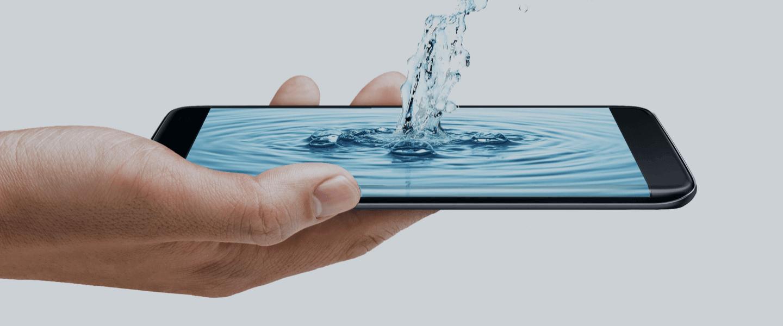 Smartphone Technologie eau
